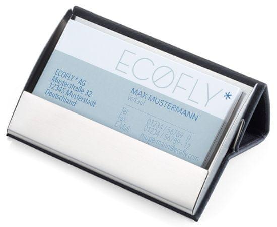 Troika CDC15-04/BK CARD STAND Black - puzdro na vizitky, čierne