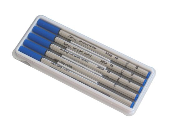 Troika 99Z110 5-ER PACK TINTENR MINEN náplň do pera modrá