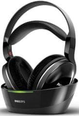 Philips SHD8850 TV slušalke, brezžične, črne