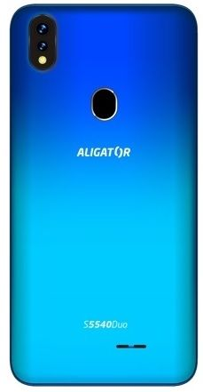 Aligator S5540 Duo, 2GB/32GB, modrý