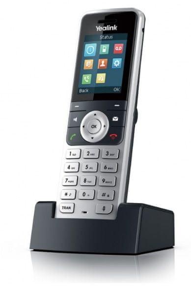 YEALINK SIP-W53H - přídavné sluchátko (ručka) k bezdrátovému telefonu W52P / W53P / W60P
