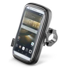 """Interphone Voděodolné pouzdro SMART pro telefony do velikosti 6,5"""", úchyt na řídítka, černé (SMSMART65)"""