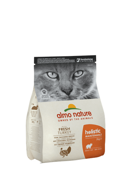 Almo Nature Holistic DRY CAT Adult - Morka s ryžou 2 kg