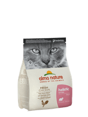 Almo Nature Holistic DRY CAT Kitten - Kuře s rýží 2 kg