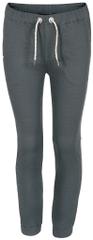 ALPINE PRO HILDO dětské kalhoty 116 - 122 šedá