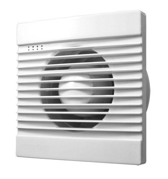 AQUALINE Koupelnový ventilátor, 230V/50Hz, 100mm, bílá (FBS300)