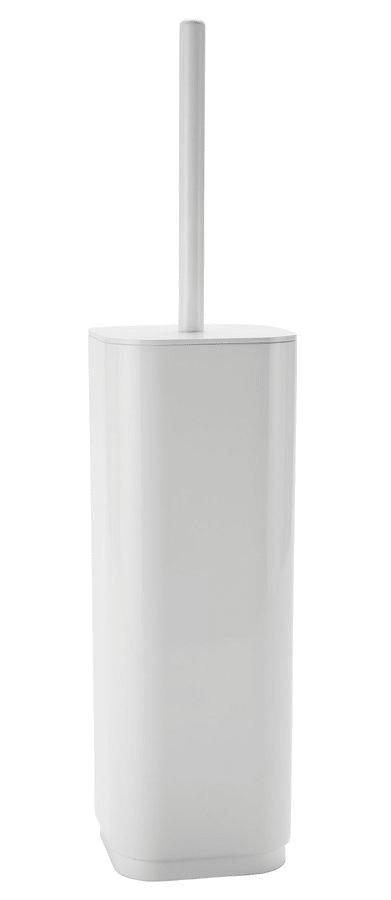 AQUALINE SEVENTY WC štětka na postavení, bílá (633422)