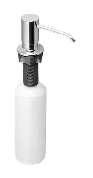 SAPHO Zápustný dávkovač mýdla, kulatý, chrom (SP023)
