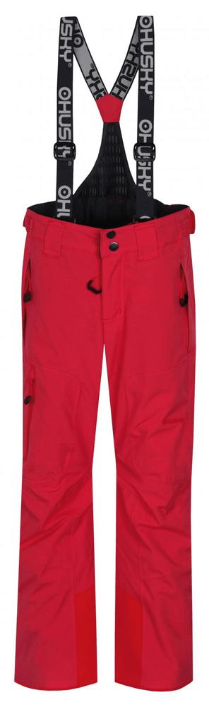 Husky dětské lyžařské kalhoty Zeus Kids 134 růžová