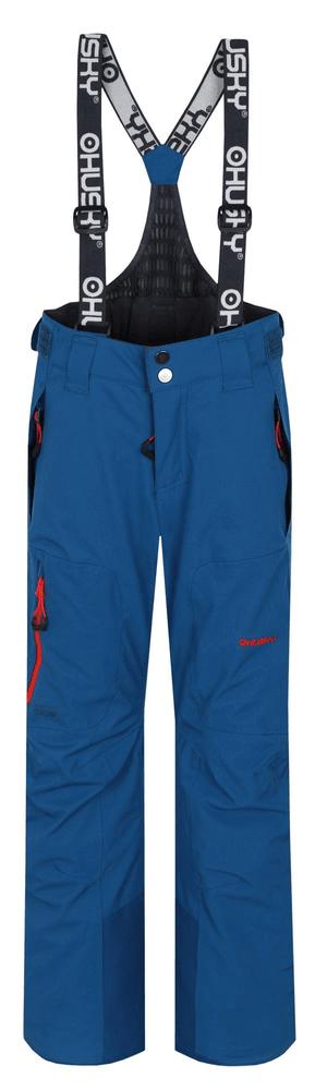 Husky dětské lyžařské kalhoty Zeus Kids 134 tmavě modrá