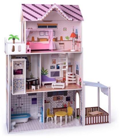 """Woody Woody Růžový domeček s výtahem """"Malibu"""""""