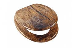 Eisl Wc sedátko Solid Wood se zpomalovacím mechanismem SOFT-CLOSE