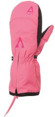 Matt Doo Zipper RS dekliške rokavice, roza, 98/104