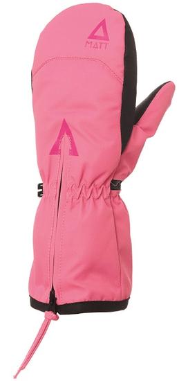 Matt dívčí rukavice DOO ZIPPER RS růžová