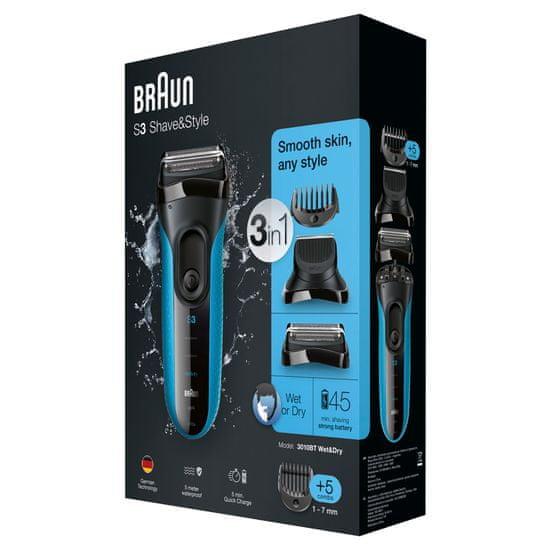 Braun aparat za brijanje Series 3 Shave & Style 3010BT