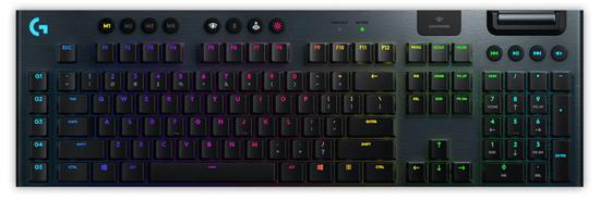 Logitech G915 LIGHTSPEED RGB brezžična mehanska gaming tipkovnica, GL linear