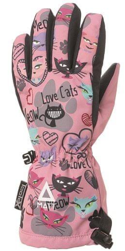 Matt dívčí rukavice 3216 Love Cats