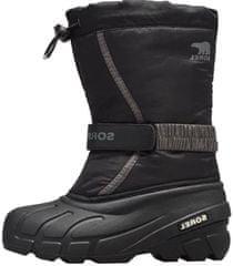 Sorel Youth Flurry otroški zimski čevlji, 38, črni