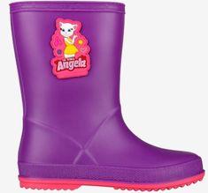 Coqui Rainy Talking Tom & Friends dekliški škornji Purple/Lt. fuchsia, 25, vijolični