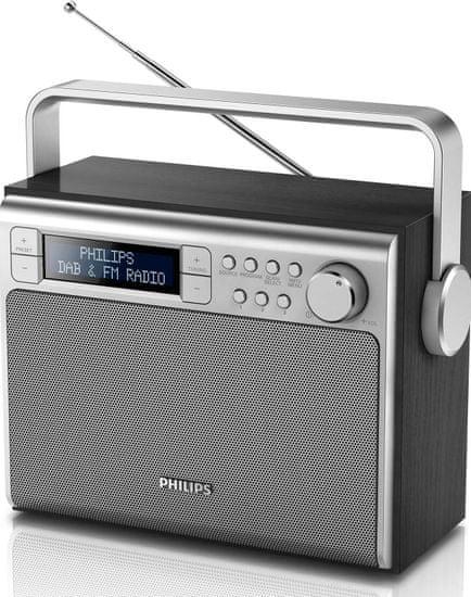 Philips AE5020B, stříbrná/černá