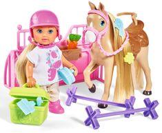Simba lutka Eva s konjem