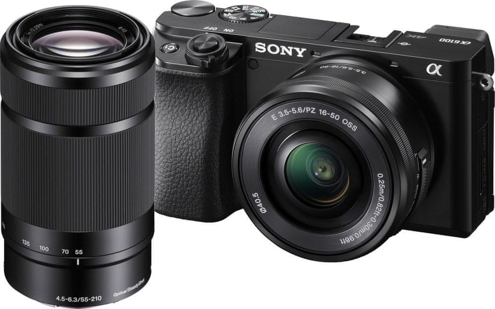 Sony A6100 + 16-50 + 55-210 mm (ILCE6100YB)