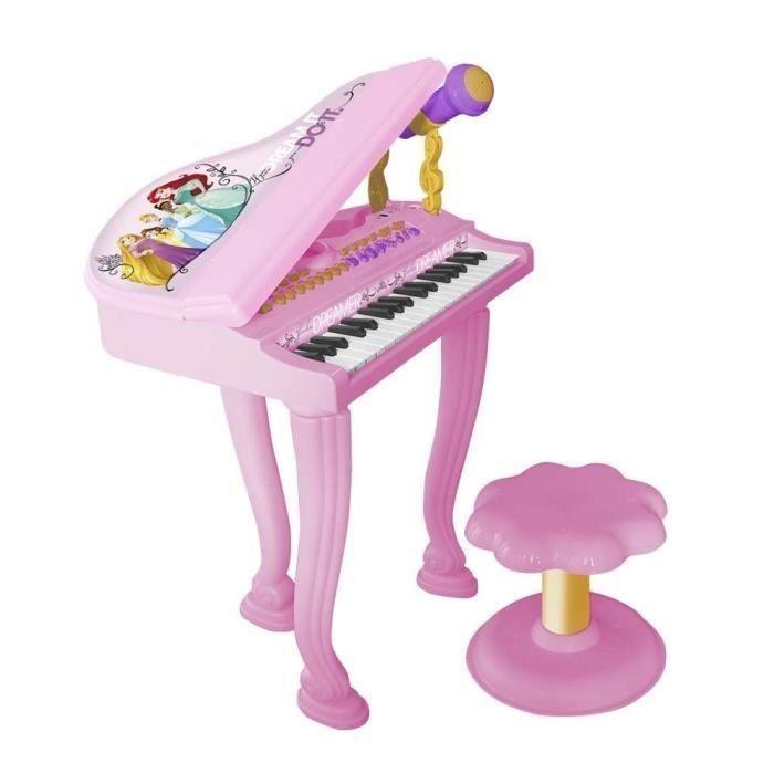 Reef dětské elektronické piáno se stoličkou a mikrofonem, 3+