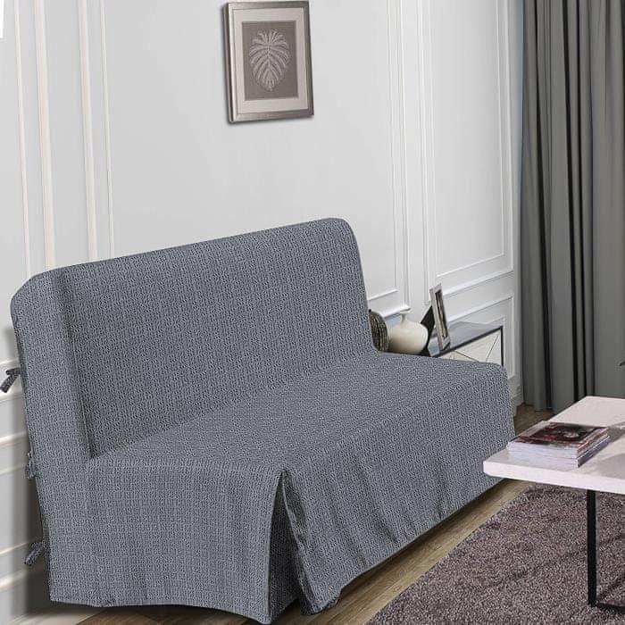 Hometrend elegantní potah na pohovku, 140x190 cm, barva černá/grafitová