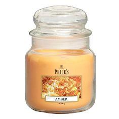 Price's Candles Sveča v steklenem kozarcu Sveče, Amber, 411 g
