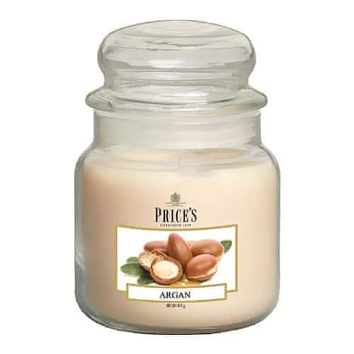 Price's Candles Sveča v steklenem kozarcu Sveče, Argan, 411 g