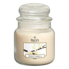 Price's Candles Sveča v steklenem kozarcu Sveče, Sladka vanilija, 411 g