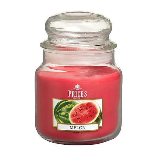Price's Candles Sveča v steklenem kozarcu Sveče, Melona, 411 g