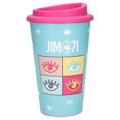 J1MO71 Pohár na pití ASST, Modrý, 350 ml