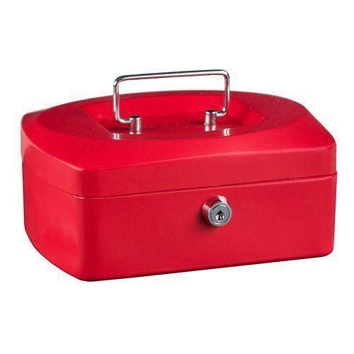 Pokladna Idena, Červená, 205 x 160 x 90 mm
