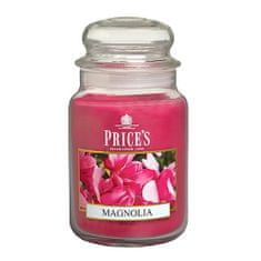 Price's Candles Sveča v steklenem kozarcu Sveče, Magnolija, 630 g