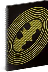 Grooters Špirálový blok Batman – Circles, linajkovaný, A5