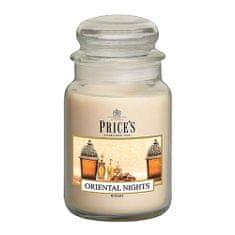 Price's Candles Sveča v steklenem kozarcu Sveče, Orientalske noči, 630 g