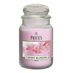 Price's Candles Sveča v steklenem kozarcu Sveče, Češnjev cvet, 630 g
