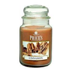 Price's Candles Sveča v steklenem kozarcu Sveče, Cimet, 630 g