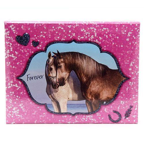 Horses Dreams Pisarniški kovček , Za vedno, roza