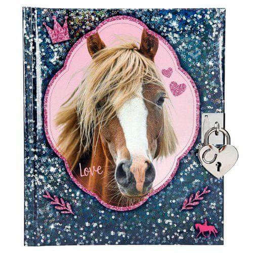 Horses Dreams Deníček se zámkem , Modrý
