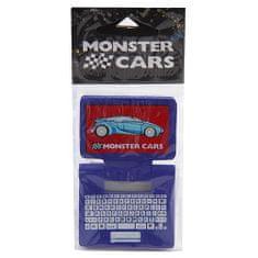 Monster Cars Guma , Modrá, tvar laptopu