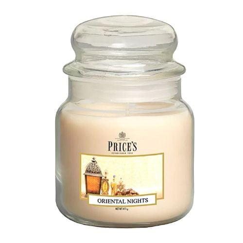 Price's Candles Sveča v steklenem kozarcu Sveče, Orientalske noči, 411 g