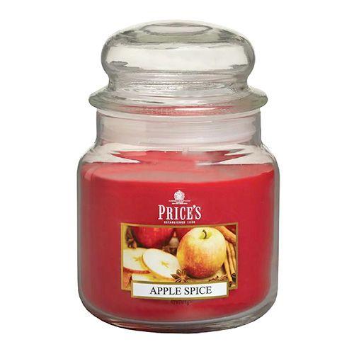 Price's Candles Sveča v steklenem kozarcu Sveče, Pikantno jabolko, 411 g