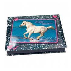 Horses Dreams Pisarniški kovček , Čarobni trenutek, modre barve