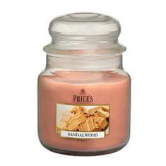 Price's Candles Sveča v steklenem kozarcu Sveče, Sandalovina, 411 g