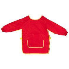Idena Pracovní zástěra pro děti, červená, 9-10let
