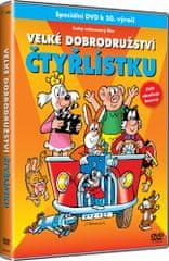Velké dobrodružství Čtyřlístku - DVD