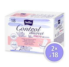 Bella Control Discreet Micro in 18 ks × 2