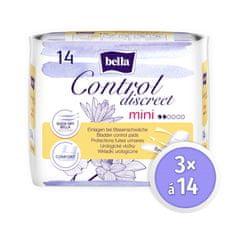 Bella Control Discreet Mini 14 ks × 3